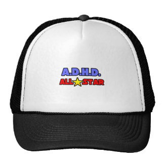 A D H D All Star Hat