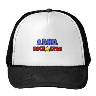 A D H D Rock Star Mesh Hats