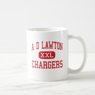A D Lawton - Chargers - Middle - Essex Junction Coffee Mug
