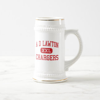 A D Lawton - Chargers - Middle - Essex Junction Beer Steins