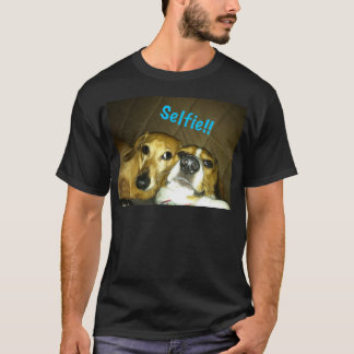 A dachshund and a beagle taking a selfie T-Shirt