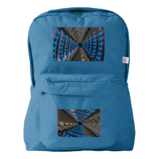 a  daisy fire on   American Apparel™ Backpack, Backpack