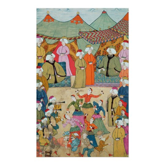 A Dance for the Pleasure of Sultan Ahmet III Poster
