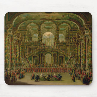 A Dance in a Baroque Rococo Palace Mouse Mat