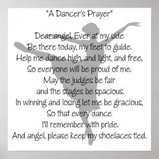 A Dancer's Prayer Dance Poster