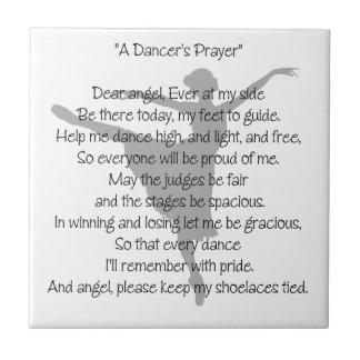 A Dancer's Prayer Tile