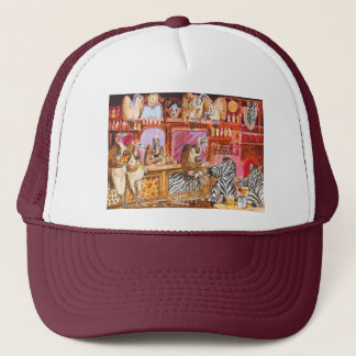 A dangerous bar trucker hat