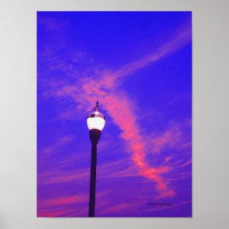 A Dawn Skyscape Poster