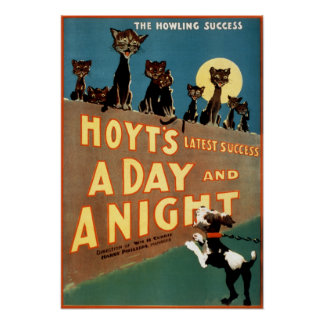 A Day and a Night - The Howling Success Poster