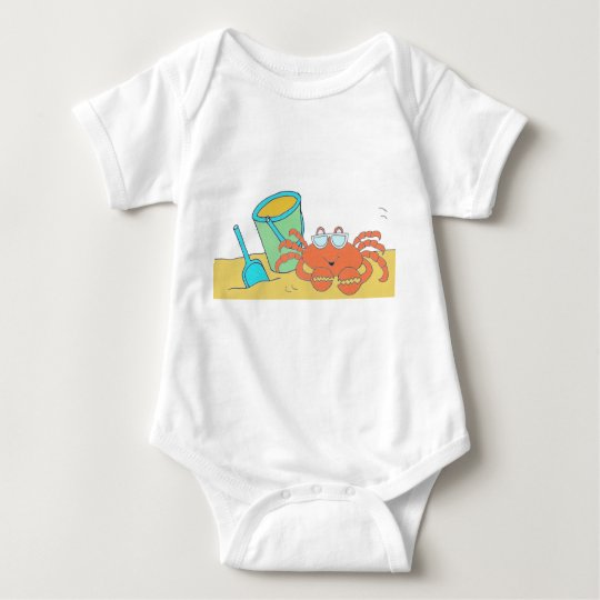 A day at the beach baby bodysuit