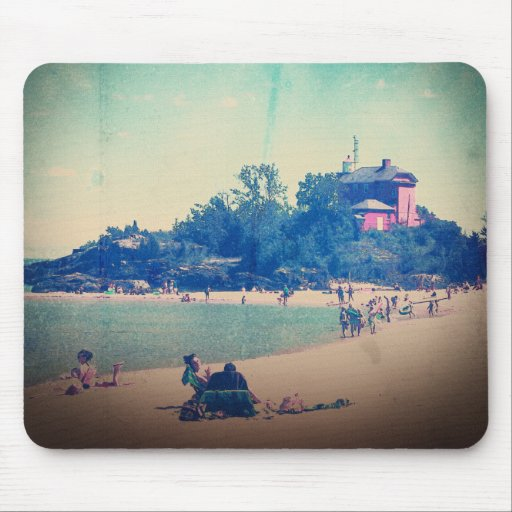 A Day At The Beach Mousepad