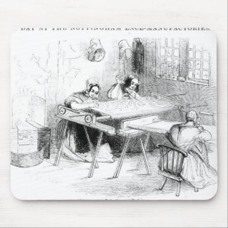 A Day at the Nottingham Lace Manufacturers Mouse Pad