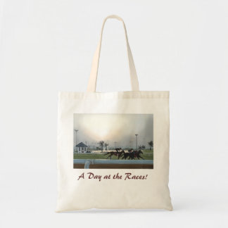 A Day at the Races! Tote Bag