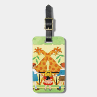 A Day At The Zoo Luggage Tag