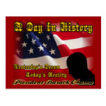 A Day In History Obama Inauguration Gifts Postcard