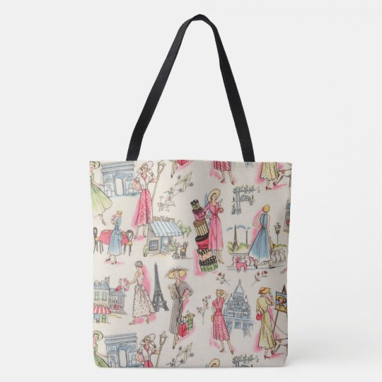 A Day in Paris Tote Bag