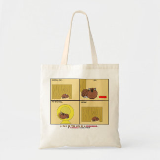 A Day in the Life of a Hedgehog Schnozzle Comic Canvas Bags