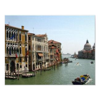 A Day in Venice 11 Cm X 14 Cm Invitation Card