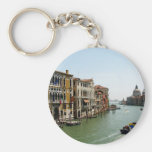 A Day in Venice Basic Round Button Key Ring