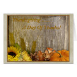 A Day Of Thanks Greeting Card!