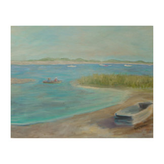 A DAY ON THE WATER Wood Wall Art Wood Canvas