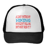 A Day Without Hiking Wouldn't Kill Me Mesh Hat