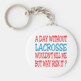 A Day Without Lacrosse Wouldn t Kill Me But Why Ri Key Chain