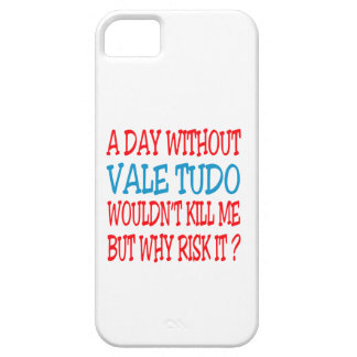 A Day Without Vale Tudo. iPhone 5/5S Cover