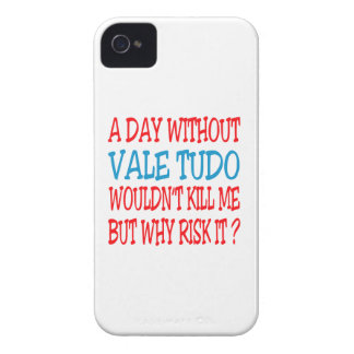 A Day Without Vale Tudo. iPhone 4 Cover