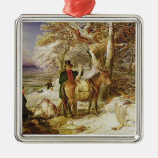 A Day's Sport, 1826 (oil on canvas) Christmas Ornament