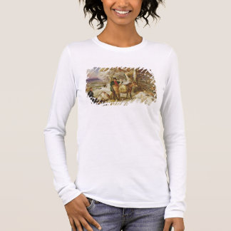 A Day's Sport, 1826 (oil on canvas) Long Sleeve T-Shirt