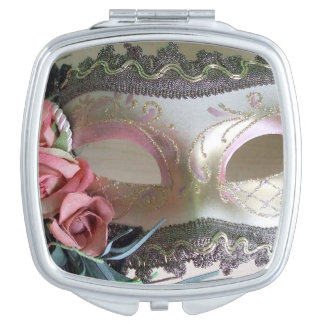 A Decorative Party Mask Vanity Mirror