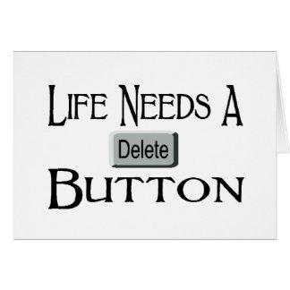 A Delete Button Cards