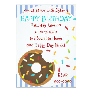 A Delicious Bite of Donut Card