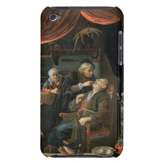 A Dentist Examining The Tooth of an Old Man (oil o Barely There iPod Cases