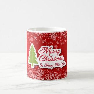 A designed Christmas classic mug