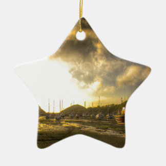A Devonshire sunset Christmas Ornament