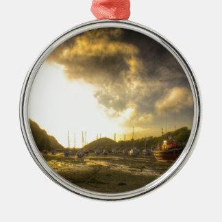 A Devonshire sunset Christmas Ornament
