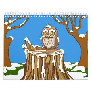 A Diary of Bedtime Stories Calendar