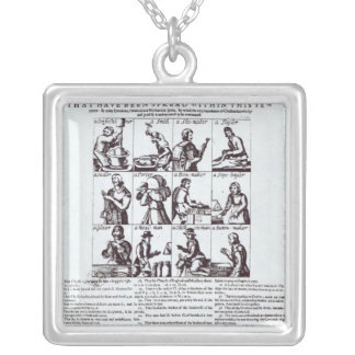 A Discovery of the Most Dangerous Silver Plated Necklace