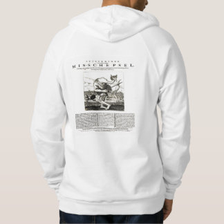 A disfigured man armed with bows and arrows 1658 hoodie