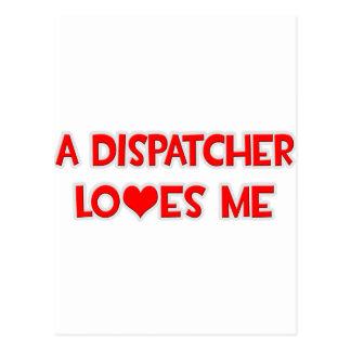 A Dispatcher Loves Me Postcard