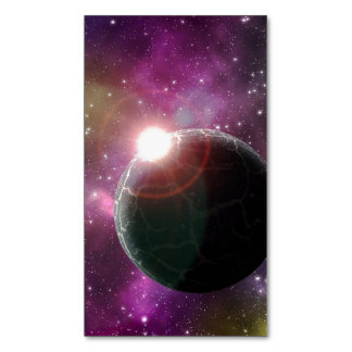 A DISTANT WORLD (outer space) 4x6 ~.jpg Magnetic Business Cards