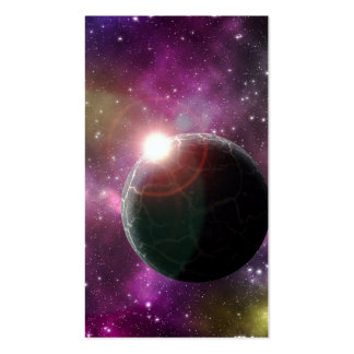 A DISTANT WORLD (outer space) 4x6 ~.jpg Pack Of Standard Business Cards
