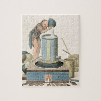 A Distiller, plate 24 from 'The Costume of China', Jigsaw Puzzle