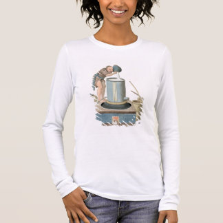 A Distiller, plate 24 from 'The Costume of China', Long Sleeve T-Shirt