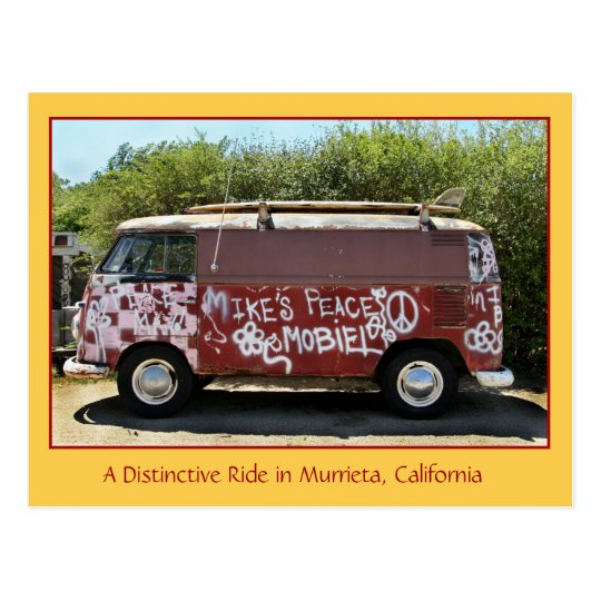 A Distinctive Ride in Murrieta, CA Postcard