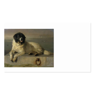 A_Distinguished_Member_of_the_Humane_Society_by_Si Pack Of Standard Business Cards