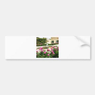 A Divine Rose Garden Picture Bumper Sticker
