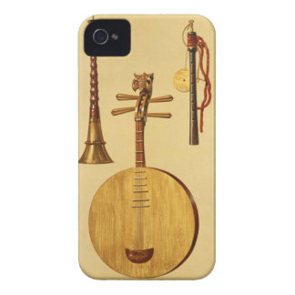 A dizi, a sona, a yueqin, Chinese, a Japanese hich iPhone 4 Case-Mate Cases